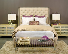 Next Stop, Luxury - Cleo Bed eclectic bedroom
