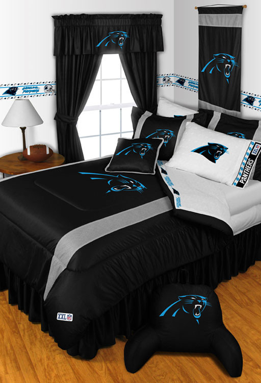 NFL Carolina Panthers Bedding and Room Decorations - Modern