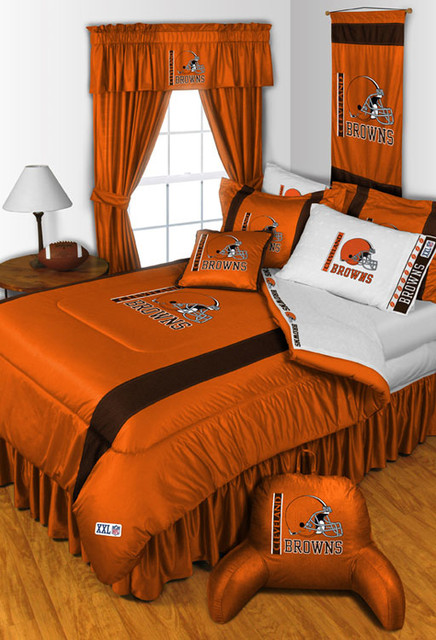 NFL Cleveland Browns Bedding And Room Decorations Modern