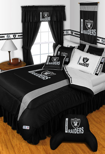 Cincinnati bathroom remodeling - Nfl Oakland Raiders Bedding And Room Decorations Modern
