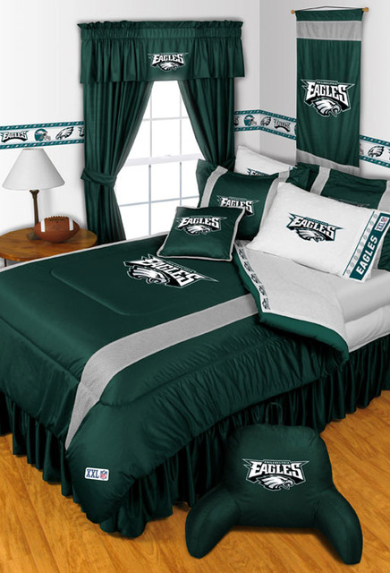 NFL Philadelphia Eagles Bedding and Room Decorations modern bedroom. NFL Philadelphia Eagles Bedding and Room Decorations   Modern