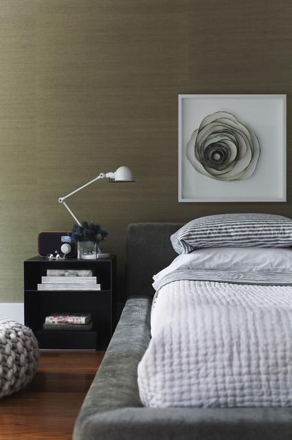 Modern Eclectic Residence modern-bedroom