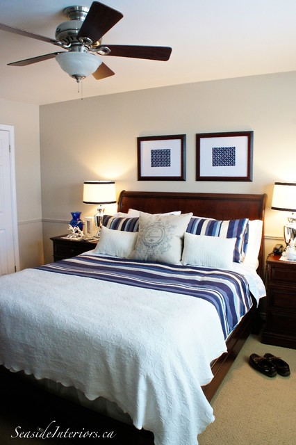 Nice In Navy Master Bedroom Update Traditional Bedroom