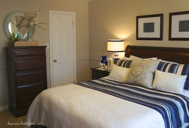 Nice In Navy Master Bedroom Update Traditional Bedroom Other
