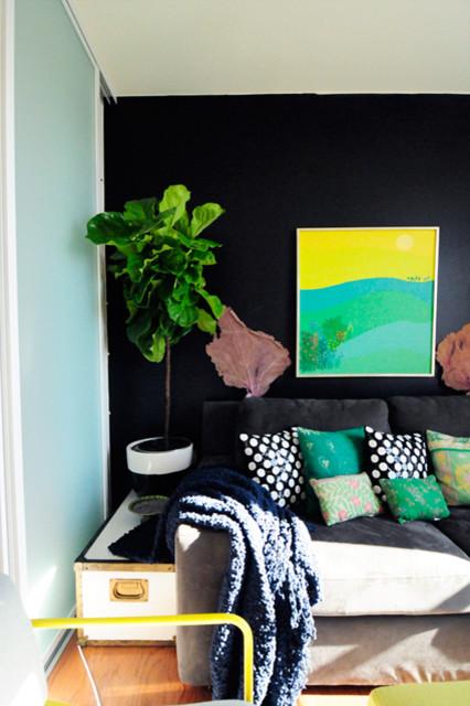 Nicole Lanteri Home eclectic-bedroom