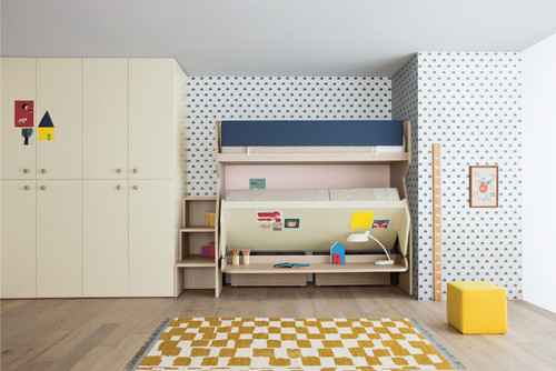 Nidi:  modular bedroom furniture for children