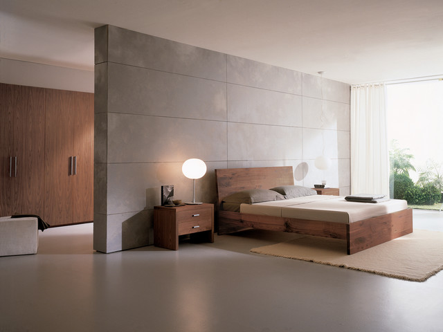 Night stand 05925 modern bedroom philadelphia by usona for Minimalist master bedroom ideas