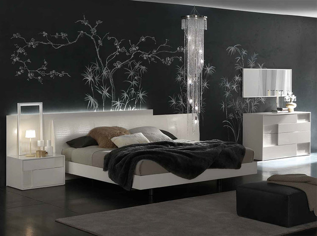 Camere Da Letto Rossetto.Nightfly White Platform Bed By Rossetto 2 495 00