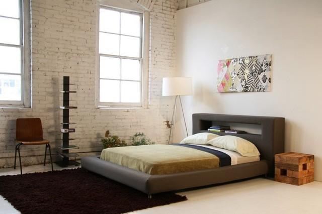 Nini platform bed modern bedroom los angeles by viesso - Bedroom furniture in los angeles ...