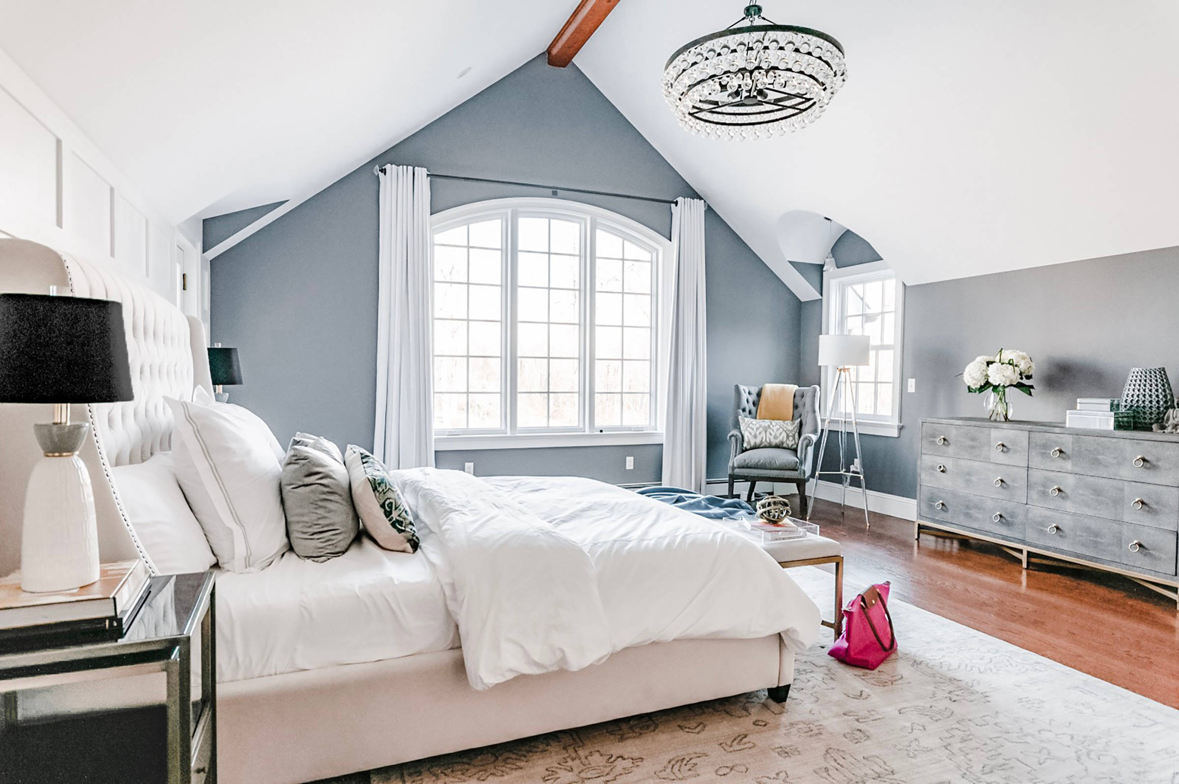 75 Beautiful Transitional Master Bedroom Pictures Ideas March 2021 Houzz
