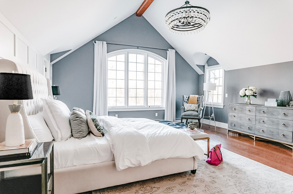 Nj Country House Modern Farmhouse Master Bedroom Transitional