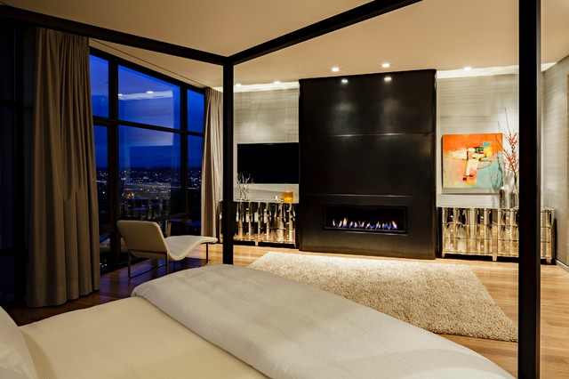 Nob Hill Penthouse Modern Bedroom Portland By