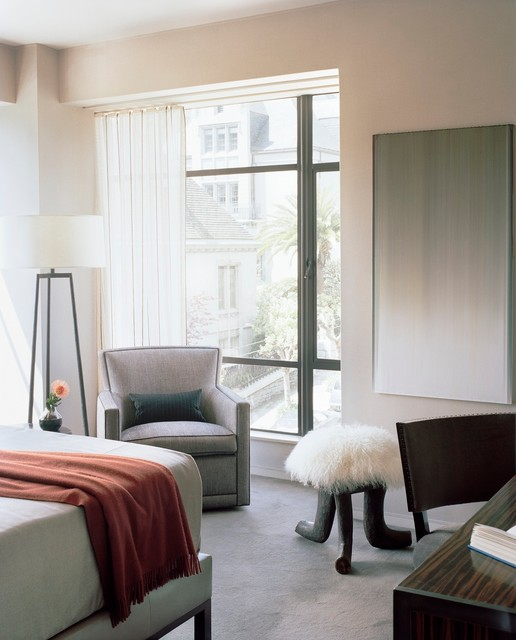 Nob Hill Pied-a-Terre transitional-bedroom