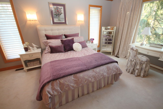 Nobleton Country Property traditional bedroom