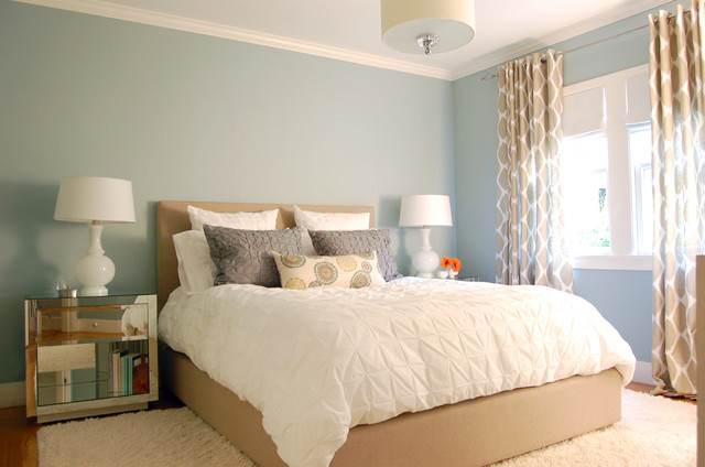Noe Valley Makeover contemporary bedroom
