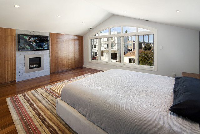 Noe Valley Master Suite Contemporary Bedroom San Francisco By W Davi