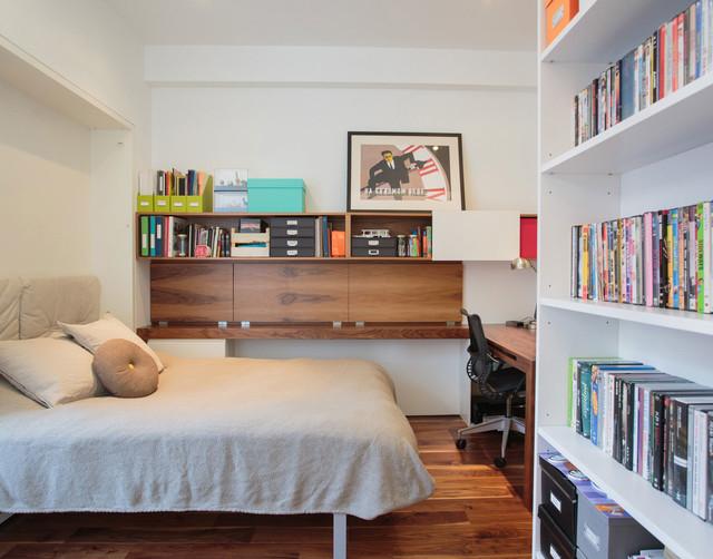 NoHo Duplex contemporary-home-office