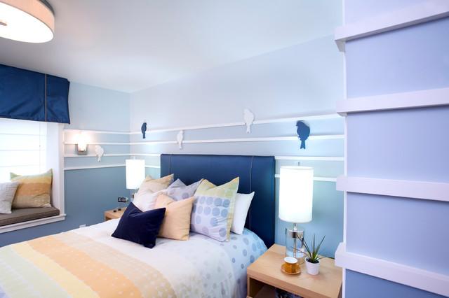 Non Profit contemporary-bedroom