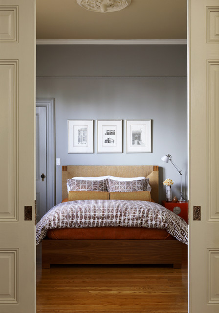 Fancy Transitional Bedroom by John Lum Architecture Inc AIA