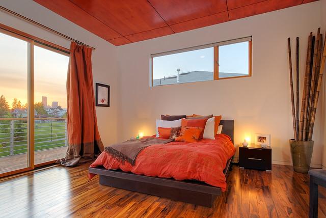 Norman Residence Modern Bedroom