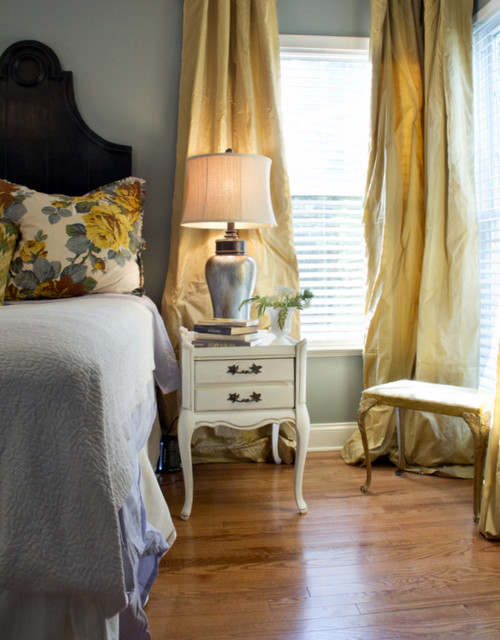 master bedroom makeover for a young married couple traditional bedroom