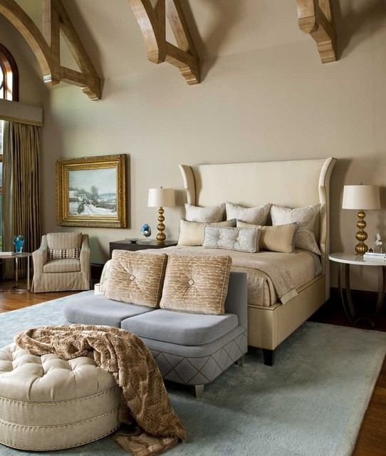 North Dallas Residence Traditional Bedroom