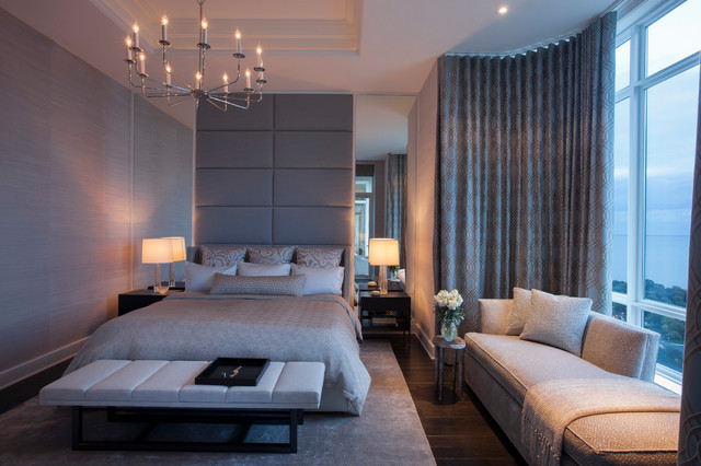 North Lakeview Contemporary Bedroom Chicago By