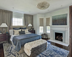 North Shore Family Home traditional bedroom