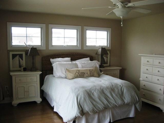 Custom home in North Wildwood traditional-bedroom