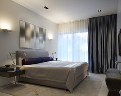 Northbrook House contemporary-bedroom