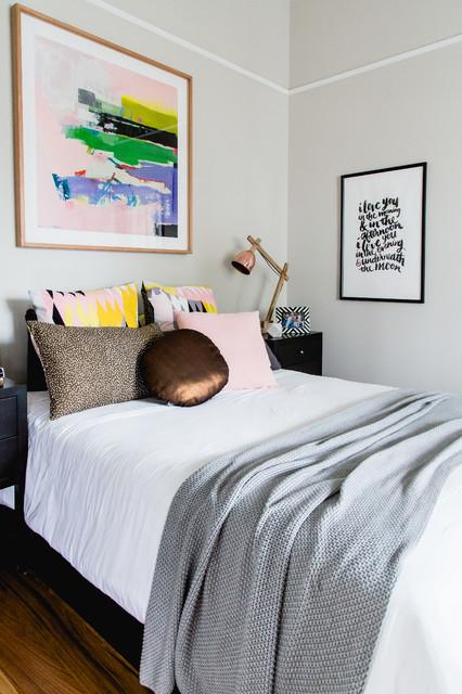 Ispirazione per una camera da letto minimal