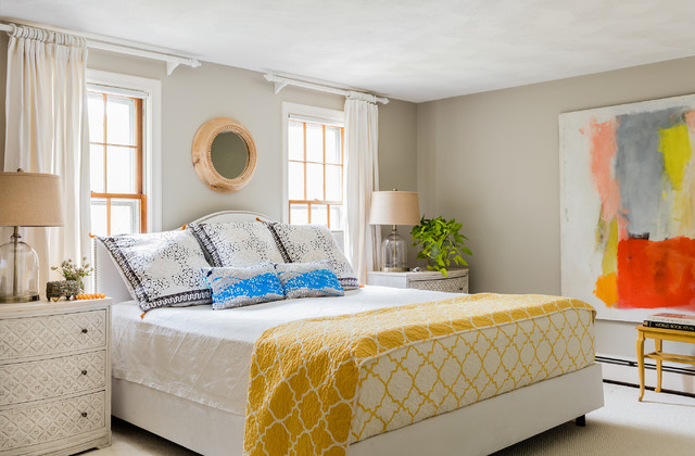 Northside Colonial transitional-bedroom