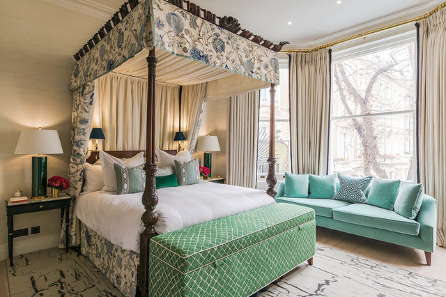 Notting Hill Lateral Apartment - Traditional - Bedroom ...