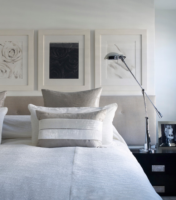 Notting Hill Townhouse contemporary-bedroom