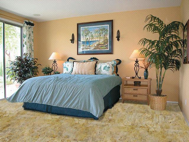 Nova Cork Flooring Tropical Bedroom Chicago By