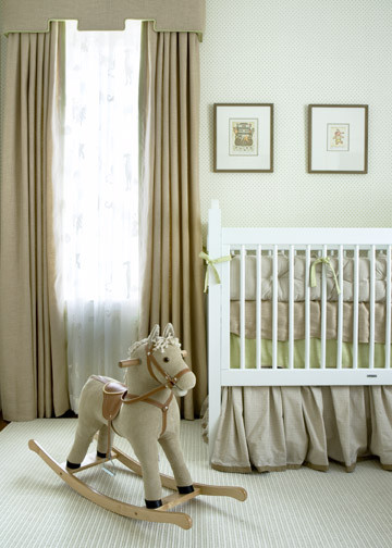 Nursery traditional bedroom