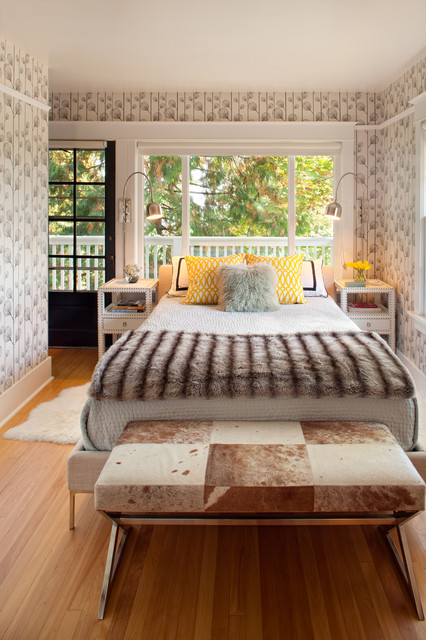 NW homes eclectic-bedroom
