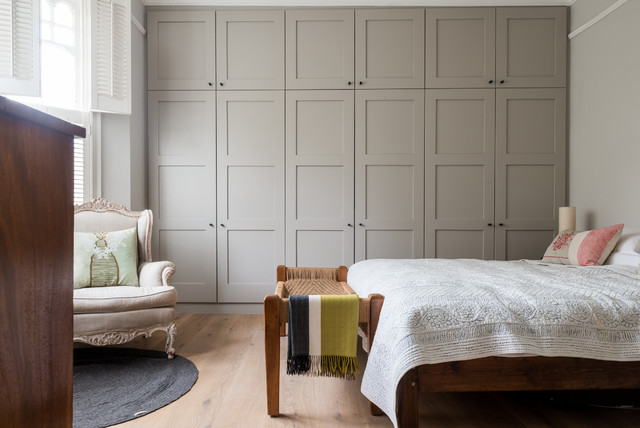 NW London Family Home transitional-bedroom