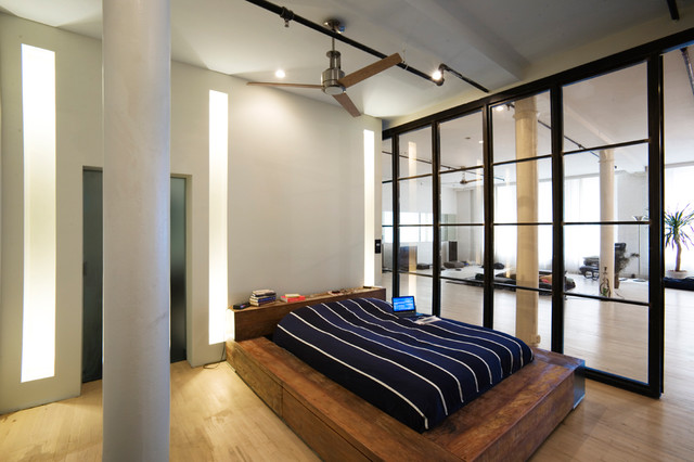 Ny loft for Modern loft bedroom
