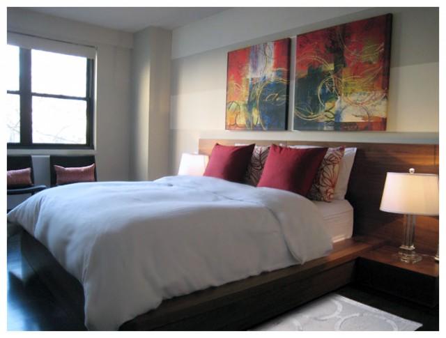 NYC Interior Design contemporary-bedroom