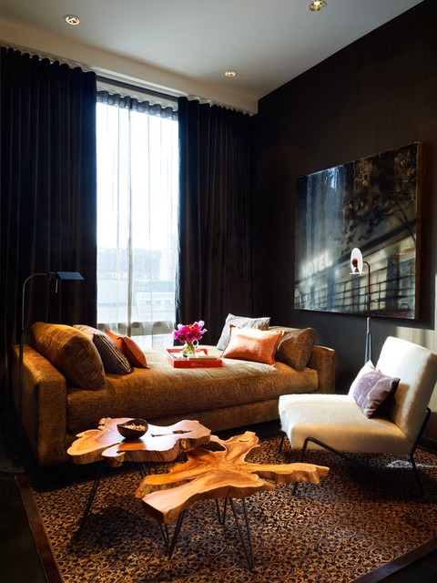NYC Loft modern-bedroom