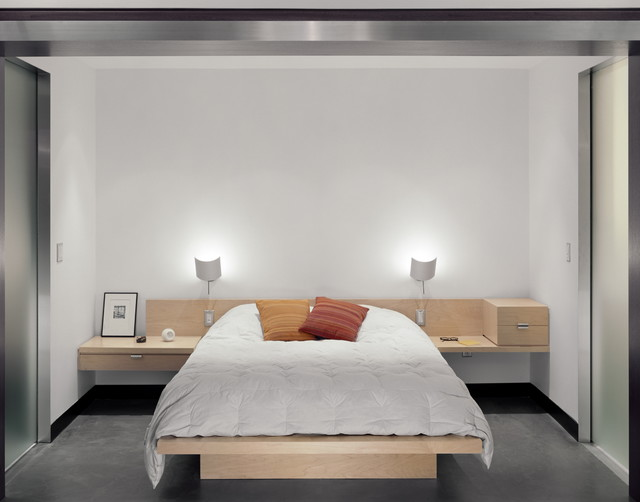 nychay loft moderne chambre new york par resolution 4 architecture. Black Bedroom Furniture Sets. Home Design Ideas