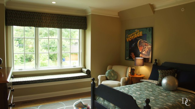 Oakbrook  Homes- Julie Massey traditional-bedroom
