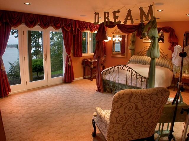 Oakes Avenue mediterranean-bedroom