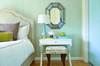 Oakland Hills Master Suite - Eclectic - Bedroom - San Francisco - by Nicole Benveniste Interior Design