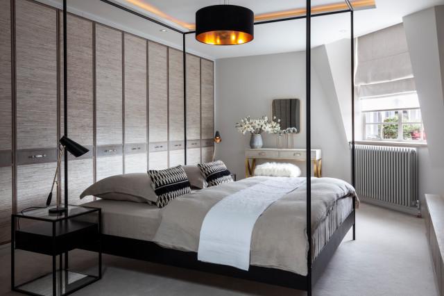Oakwood Court   Master Bedroom - Contemporary - Bedroom ...