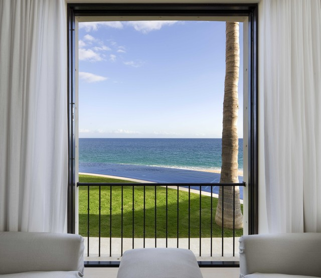 Ocean View tropical-bedroom