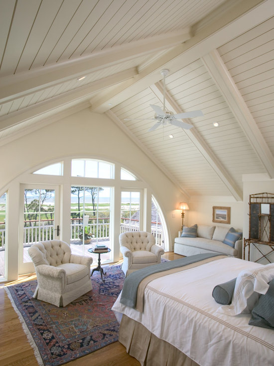 Affordable Master Bedroom Design Ideas, Pictures, Remodel & Decor with Beige Walls