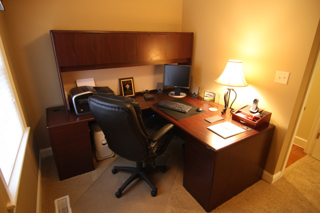 office in master bedroom addition 18864 | traditional home office