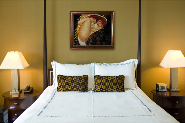 Charmant Oil Paintings For Bedrooms Transitional Bedroom